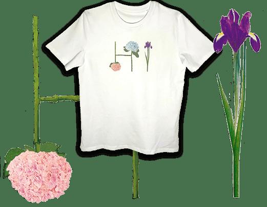Blumenbuchstaben +