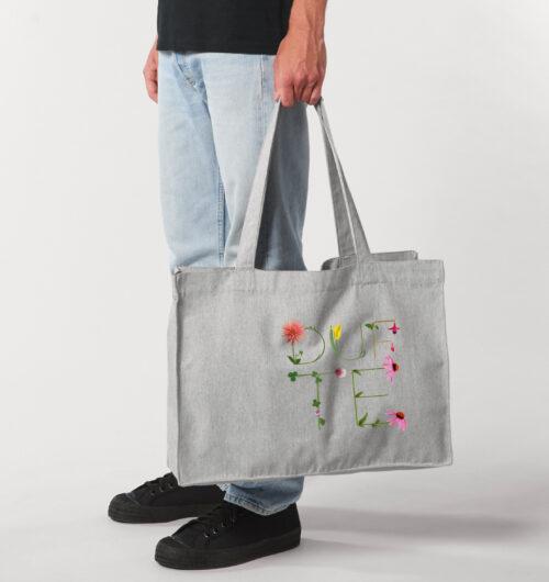 dufte auf organic shopping bag