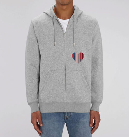 Hearty auf Organic Zipper. Faibleshop.com