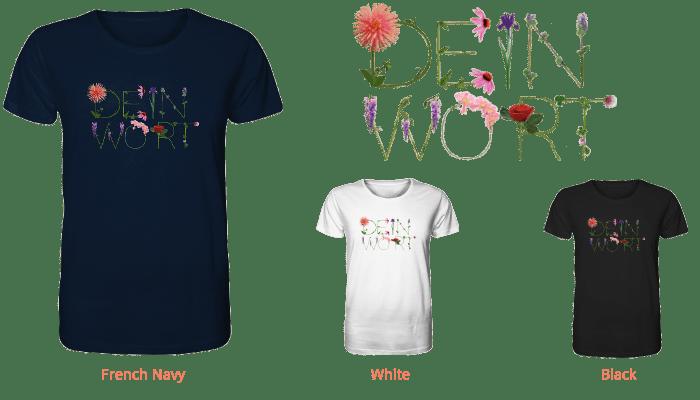 dein-Wort gedruckt auf Organic Shirt-faibleshop