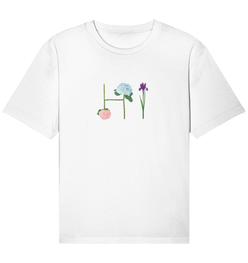 front organic relaxed shirt f8f8f8