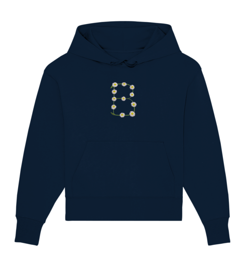 front organic oversize hoodie 0e2035
